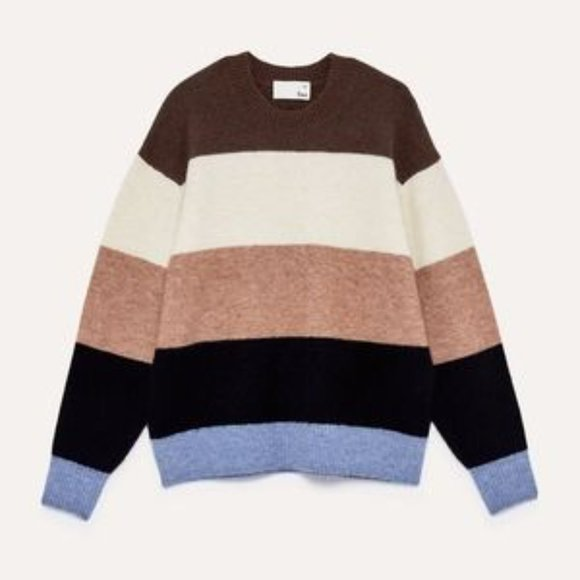 Wilfred Free Cipriana Colour Block Sweater